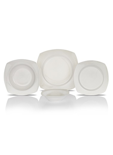 Schafer 24 prç. Elga Yemek Takımı-BYZ02-93826 Beyaz